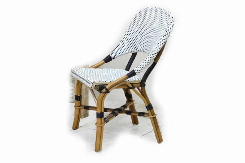 Стул CRUZO Bistro Chair 3 натуральный ротанг, медовый, s0003