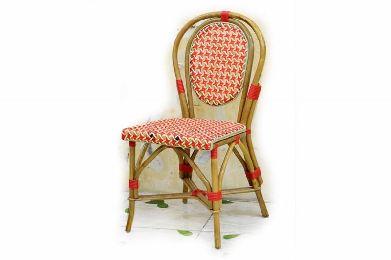 Стул CRUZO Bistro Chair 1 натуральный ротанг, медовый, s0002