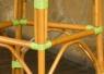Барный стул CRUZO Bistro Bar Stool 2 натуральный ротанг, медовый, s0005