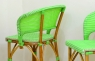 Барный стул CRUZO Bistro Bar Stool 2 натуральный ротанг медовый s0005