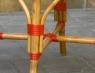 Табурет CRUZO Bistro Stool натуральный ротанг, медовый, s0001