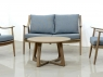 Комплект мебели Буки Сет CRUZO (софа, 2 кресла, стол) дерево, тик, km08205