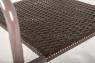 Стул CRUZO Браун Стил металл / искусственный ротанг s0008
