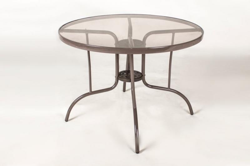 Обеденный стол Cruzo Браун Стил металл, коричневый, st0015