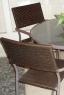 Обеденный комплект Браун Стил CRUZO (стол +4 стула) коричневый ok0004
