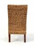 Обідній комплект Касабланка CRUZO (стіл і 6 стільців) абака коричневий ok00099