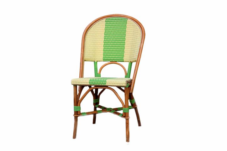 Стул CRUZO Bistro Chair 4 натуральный ротанг медовый s0004
