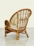 Комплект плетеной мебели Копакабана Гиацинт из натурального ротанга 2 кресла и кофейный столик CRUZO km08203