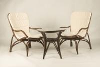 Кофейный комплект CRUZO Дрим (столик + 2 кресла) коричневый ok0010