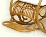 Крісло качалка Імпайр CRUZO натуральний ротанг, медовий, kk0007