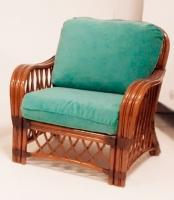 Кресло Феофания CRUZO натуральный ротанг, ореховый, fl0678