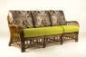 Комплект мебели Феофания Премиум CRUZO (диван, софа, кресло, пуф и столик) натуральный ротанг, коричневый, d0027