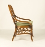 Обеденный комплект CRUZO Феофания Премиум (стол +6 стульев) ореховый ok0011