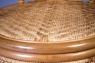 Обеденный комплект CRUZO Гурзуф (стол +4 кресла) натуральный ротанг медовый ok0022