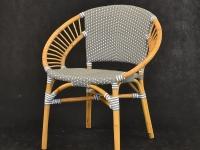 Обеденный стул Хотын CRUZO натуральный ротанг, st08209