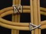 Барний Стілець Хотин CRUZO натуральний ротанг bs08208