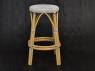 Барный стул Хотын CRUZO натуральный ротанг, bs08208