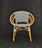 Обеденный стул Хотын CRUZO натуральный ротанг st08209