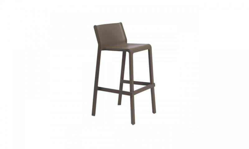 Барний стілець Nardi Trill Stool Tabacco 40350.53.000