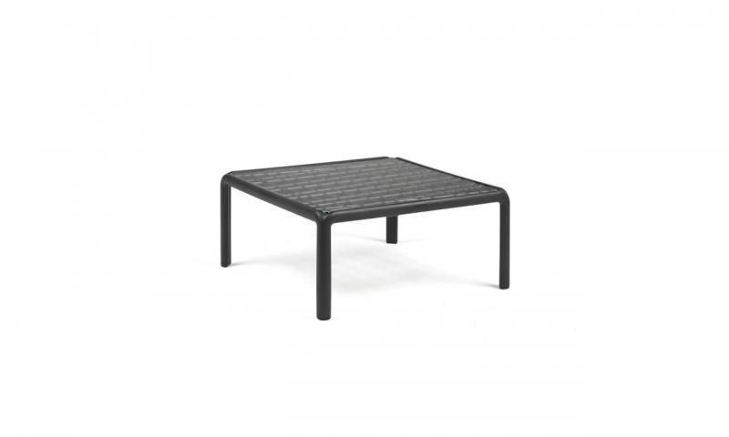 Кавовий столик Nardi Komodo Tavolino Vetro Antracite 40368.02.501
