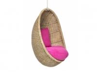 Подвесное кресло-кокон Ирма CRUZO (для детей) натуральный ротанг ks0010