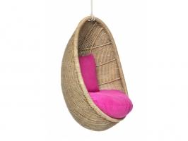 Підвісне крісло-кокон Ірма CRUZO (дитяче) натуральний ротанг світло-коричневий ks0010