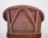 Кофейный комплект CRUZO Калипсо (столик +2 кресла) дерево / натуральный ротанг коричневый ok0007