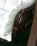 Качели садовые Катрин CRUZO  натуральный ротанг / дерево коричневый ks0006
