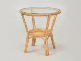 Кофейный столик Келек CRUZO натуральный ротанг медовый kl0002