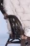 Софа CRUZO Копакабана натуральный ротанг, коричневый, d0019