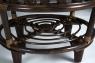 Кофейный столик CRUZO Копакобана натуральный ротанг коричневый st0009
