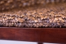 Кофейный комплект Кобра CRUZO (столик +2 кресла) дерево / водный гиацинт коричневый ok0023