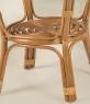 Кавовий столик Келек CRUZO натуральний ротанг, медовий, st0002