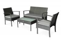 Комплект мебели для сада Корсика из искусственного ротанга, Cruzo™, d0021