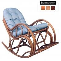 Кресло-качалка Раунд CRUZO натуральный ротанг, светло-коричневый, kr0003