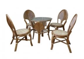 Комплект меблів обідній LEAF dinning
