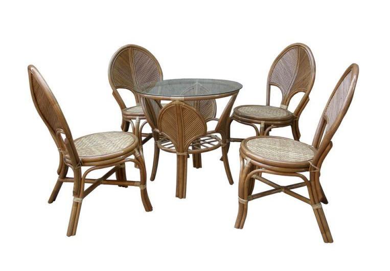Комплект мебели обеденный LEAF dinning