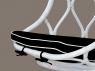 Підвісне крісло-гойдалка Лілія-2 CRUZO натуральний ротанг, білий, kr08217