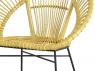 Плетений стілець Луна CRUZO натуральний ротанг медовий kr08206