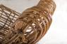 Кресло Мадонна CRUZO натуральный ротанг, медовый, kr0002