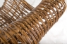 Кресло CRUZO Мадонна натуральный ротанг медовый kr0002