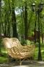 Крісло Мадонна CRUZO натуральний ротанг, медовий, kr0002