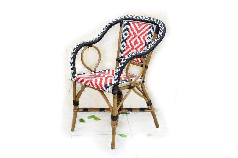 Кресло CRUZO Bistro Armchair 5 натуральный ротанг медовый kr0009