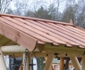 Беседка садовая с качающейся платформой CRUZO (без декора) скандинавская сосна, ks0007