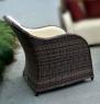 Комплект мебели Марине (2 кресла + столик) искусственный ротанг коричневый, Cruzo™, d0003