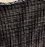 Диван Марине CRUZO искусственный ротанг, коричневый, d0002