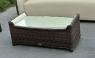 Комплект меблів Марине CRUZO штучний ротанг, коричневий, d00020