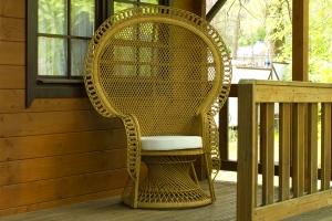 Кресло Мавлин CRUZO натуральный ротанг, светло-коричневый, kr0420