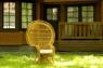 Крісло Мавлін CRUZO натуральний ротанг, світло-коричневий, kr0420