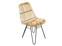 Плетеный стул Коста из натурального ротанга на металлической основе CRUZO sk10861